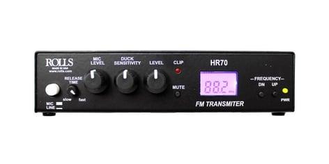 Rolls HR70  Digital FM Transmitter  HR70