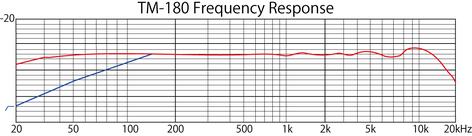 Tascam TM-180 Studio Condenser Microphone with Case and Shock Mount TM-180