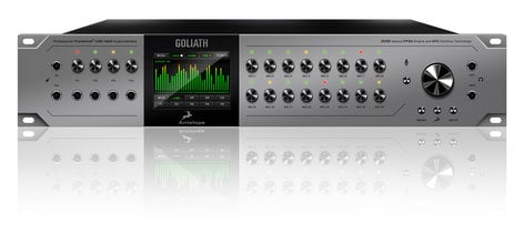 Antelope Audio Goliath Thunderbolt / USB / MADI Audio Interface with 16 Microphone Preamps GOLIATH