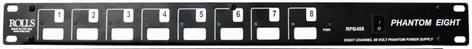 Rolls RPB488  8 CH Phantom Power with Pluggable terminals RPB488