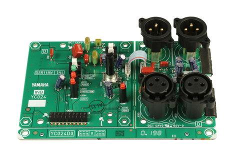 Yamaha WU729700 Input/Output PCB for DSR118 WU729700