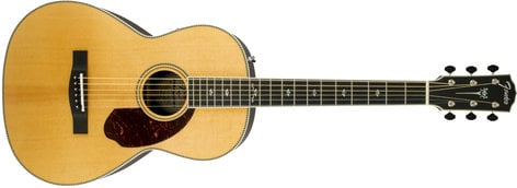 Fender PM2 Deluxe Parlor [DISPLAY MODEL] Paramount Series Parlor Acoustic Guitar with Ebony Fingerboard PM2-DLX-EB-DIS