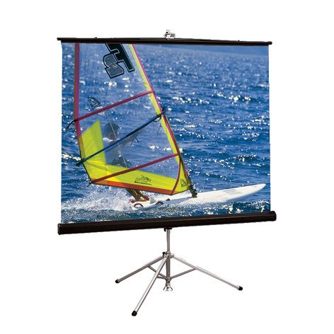 Draper Shade and Screen 215010 10' Diagonal Diplomat/R Portable Projection Screen 215010