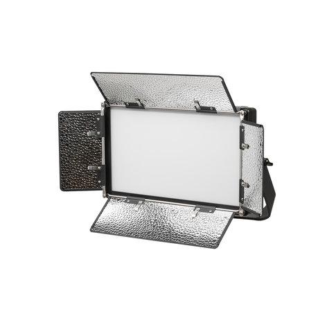 ikan Corporation LB5 Lyra Bi-Color 3200K-5600K Soft Panel Half x 1 Studio and Field LED Light LB5-IKAN