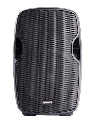 "Gemini AS-08P  8"" Lightweight Powered Speaker with Low-Frequency Driver AS-08P"