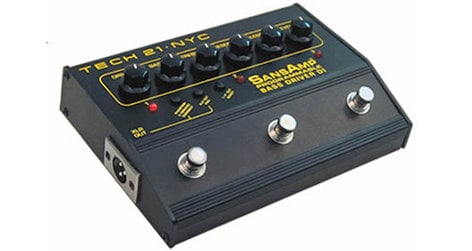 Tech 21 PBDR Programmable Bass Driver DI PBDR