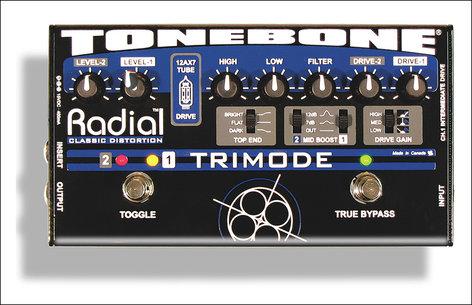 Radial Engineering Trimode Tonebone Tube Distortion TRIMODE