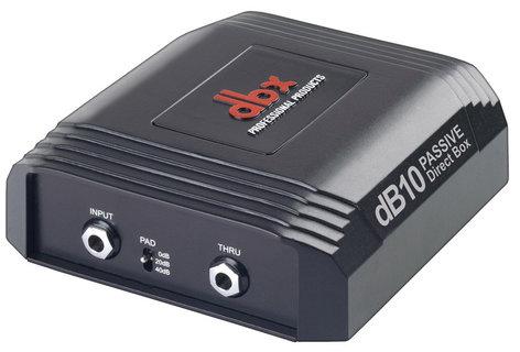 DBX DB10 Passive Direct Box DB10