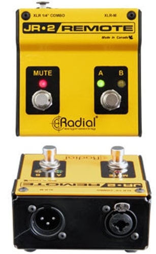 Radial Engineering JR2 2-Button Footswitch for Firefly DI JR2