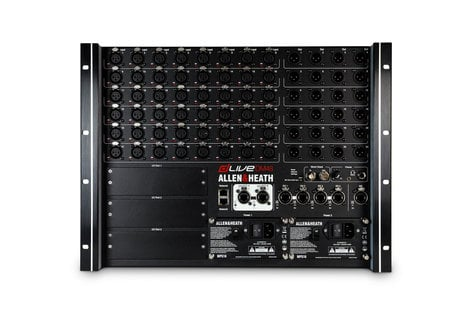 Allen & Heath DM48 [MFR-USED RESTOCK MODEL] dLive I/O Box, 48 In x 24 Out DLIVE-DM48-B2