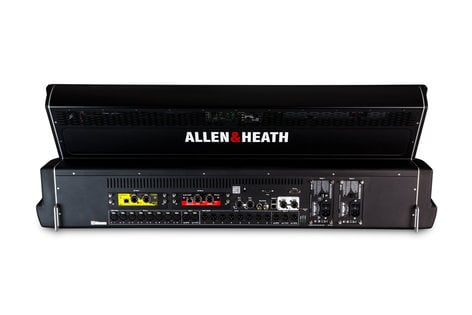 """Allen & Heath DLIVE-S5-B2 dLive S5000 [MFR-USED RESTOCK MODEL] Live Mixing Control Surface with 28 Faders and Dual 12"""" Touchscreens DLIVE-S5-B2"""