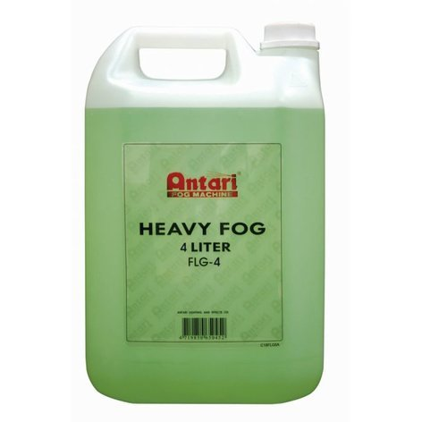 Antari FLG-4 4 Liter Bottle of Heavy Fog Liquid FLG-4