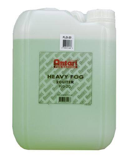 Antari FLG-20 20 Liter Bottle of Heavy Fog Liquid FLG-20