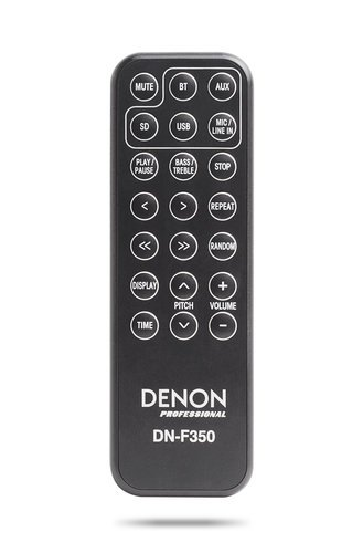 Denon DN-F350  Solid-State Media Player with Bluetooth/USB/SD/Aux Inputs DN-F350