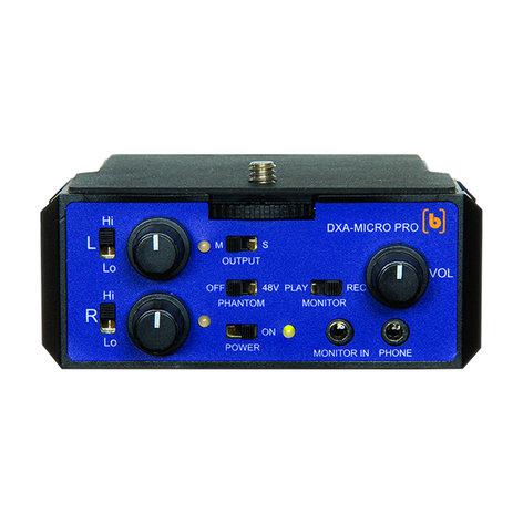 BeachTek DXA-MICRO-PRO  Active XLR Compact Adapter  DXA-MICRO-PRO