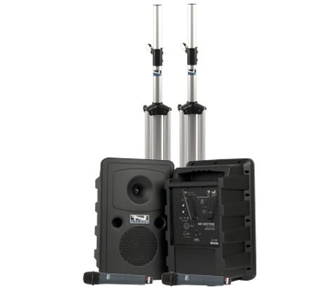 Anchor GG-DPDUAL-AIR-WB8000  Go Getter Portable PA Deluxe Dual Package GG-DPDUAL-AIR-WB8000