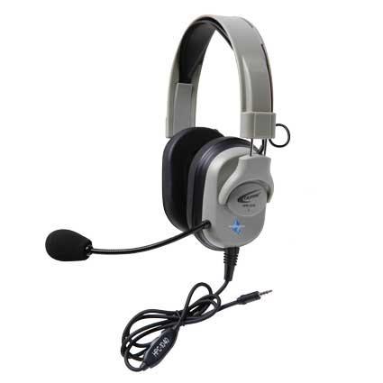 Califone International HPK-1010T  Titanium Series Headset with To Go Plug  HPK-1010T