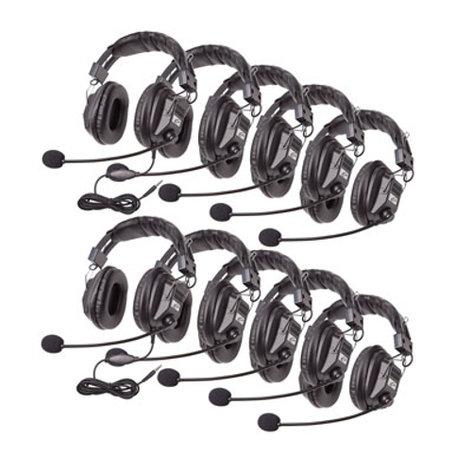 Califone International 3068MT-10L  Switchable Stereo Headsets, 10 Units 3068MT-10L