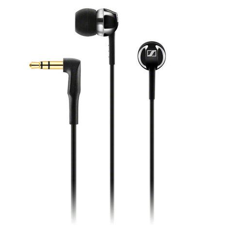 Sennheiser CX 1.00 Universal In-Ear Headphone, Black CX100-BLACK