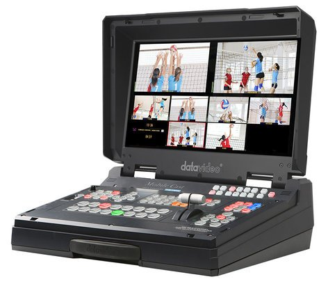 Datavideo Corporation HS-1200 6 Input HD Mobile Studio with HD-SDI and HDMI Inputs. DATAVIDEO-HS-1200
