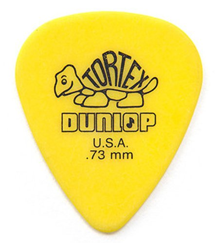 Dunlop Manufacturing 418R73 Pack of (72) .73mm Tortex Picks 418R73