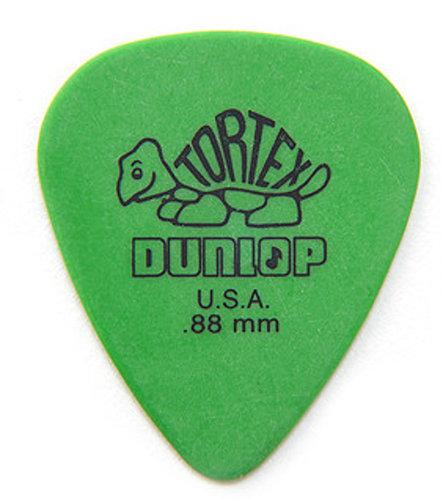 Dunlop Manufacturing 418R88 Pack of (72) .88mm Tortex Picks 418R88