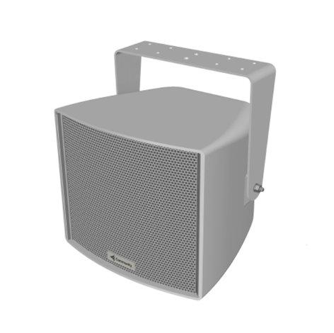 "Community R.35-3896B  8"" Ultra-Compact Horn-Loaded Triaxial Three-Way Loudspeaker in Black R.35-3896B"
