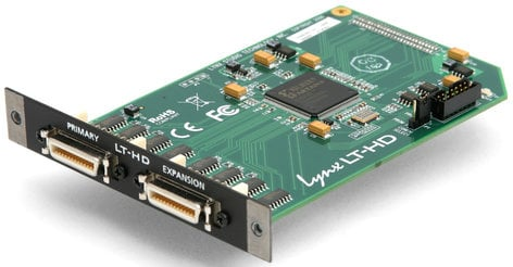 Lynx Studio Technology LT-HD ProTools Digital I/O L-Slot Expansion for Aurora 8 + 16 LT-HD