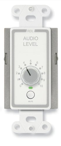 Radio Design Labs DS-RLC10KM  Remote Level Control with Muting, Stainless Steel DS-RLC10KM