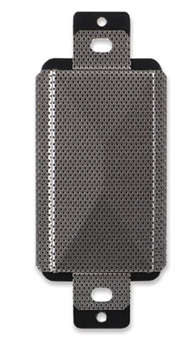 Radio Design Labs DS-SP1A 2 Watt Decora-Style 8 Ohm Loudspeaker, Stainless Steel DS-SP1A