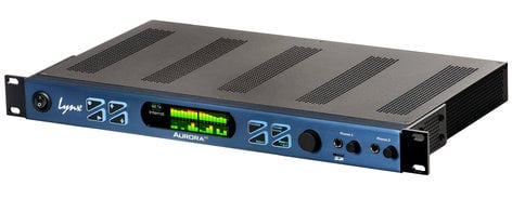 Lynx Studio Technology Aurora (n) 16 Dante 16-channel 24-bit / 192 kHz A/D D/A Converter System [Dante] AURORA-N-16-DNT
