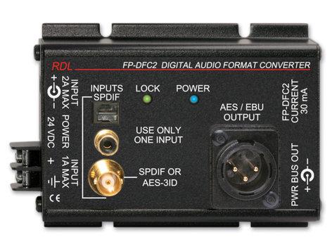Radio Design Labs FP-DFC2 Digital Audio Format Converter, 24/192 FP-DFC2