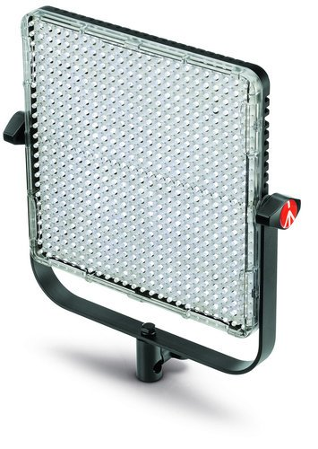 Manfrotto MLS1X1S [RESTOCK ITEM] Spectra 1X1 S LED 1700 Lux@1m-CRI>90, 5600K Dimmable Spot Light MLS1X1S-RST-01