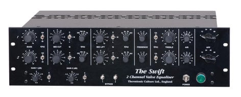 Thermionic Culture SWIFT Two Channel Equalizer SWIFT-EQ