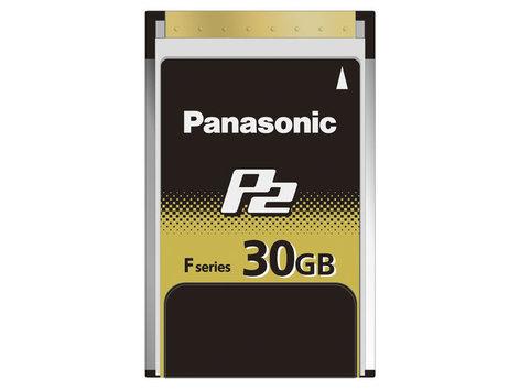 Panasonic AJ-P2E030FG 30 GB F Series P2 Memory Card AJP2E030FG