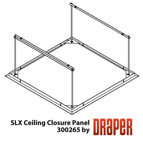 "Draper Shade and Screen 300265  35""W X 35""L SLX Ceiling Closure 300265"