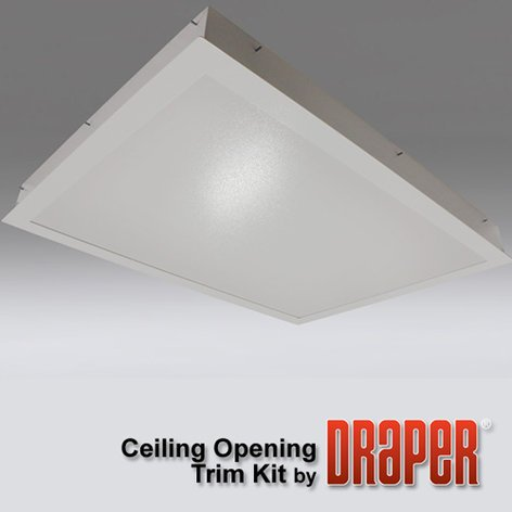 Draper Shade and Screen 300284  Ceiling Finish Kit 300284