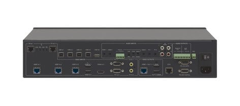 Kramer VP-553XL/110V  Boardroom Presentation Switcher/Dual Scaler  VP-553XL/110V