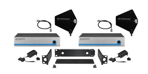 Sennheiser G3DIRKIT8 Evolution G3 Active 8 Receiver Splitter Kit with Directional Paddle Antennas G3DIRKIT8