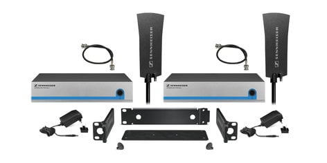 Sennheiser G3OMNIKIT8 Evolution G3 Active 8 Receiver Splitter Kit with 2 Omni-Directional Paddle Antennas G3OMNIKIT8