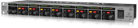 Behringer HA8000 V2 8-Channel High-Power Headphones Mixing and Distribution Amplifier HA8000-V2