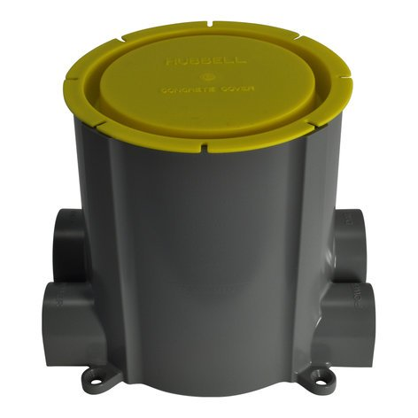 "FSR, Inc SF-PB 4"" SmartFit PVC Concrete Floor Pour Box SF-PB"