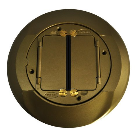 FSR, Inc SFBCCV Brass SmartFit Cover for Carpet SFBCCV