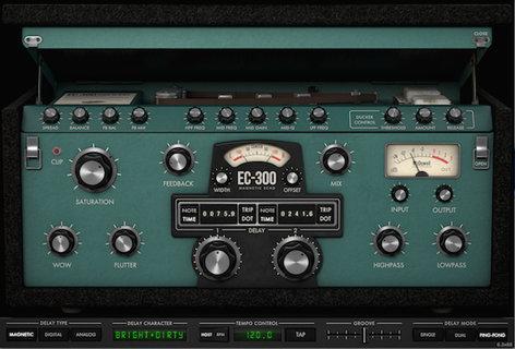 McDSP EC-300 Echo Collection - HD [DOWNLOAD] EC-300 Echo Collection HD EC-300-HD