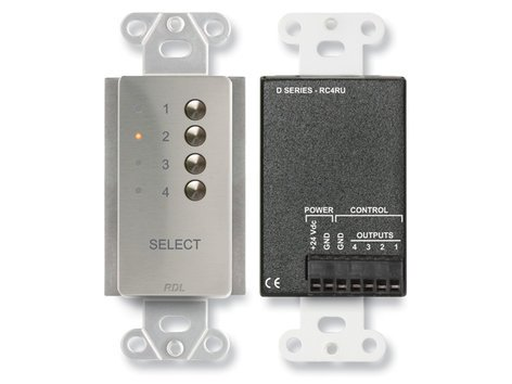 Radio Design Labs DS-RC4RU  4-Channel Remote Control for RU-SX4A DS-RC4RU