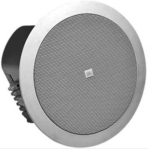 """JBL Control 24CT [USED ITEM] 4"""" 2-Way Ceiling Speaker with 70V/100V Transformer in White CONTROL-24CT-RST-08"""