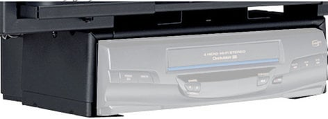 Peerless DS45 Black VCR/DVD Player Mount DS45