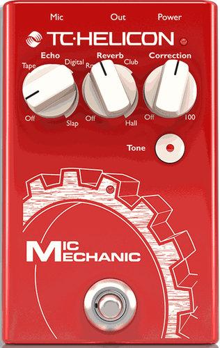 TC Helicon MIC-MECHANIC-2 Mic Mechanic 2 Vocal Effects Stompbox MIC-MECHANIC-2