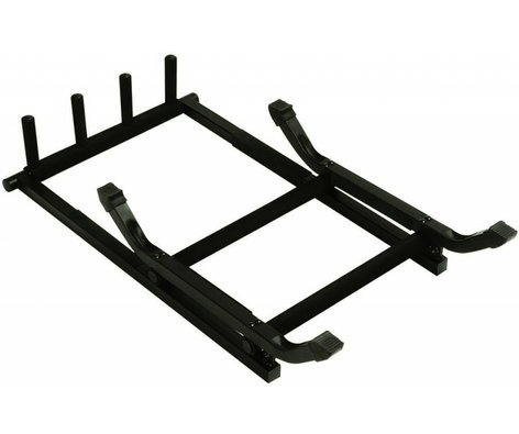 On-Stage Stands GS7361 3-Space Foladable Guitar Rack / Stand GS7361
