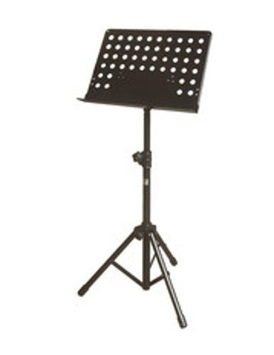 Yorkville BS-310 Large Solid Top Tripod Music Stand with Holes BS-310